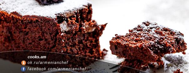 Շոկոլադե տորթ առանց ալյուրի 1
