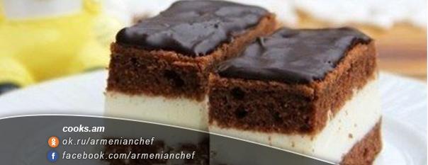 Շոկոլադե թխվածք կաթնային սուֆլեով