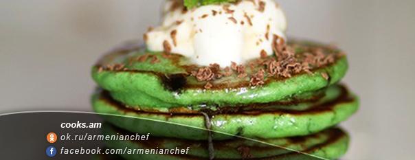 Անանուխով փանքեյք շոկոլադով