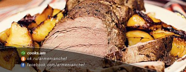 Տավարի միս ` համեմունքներով