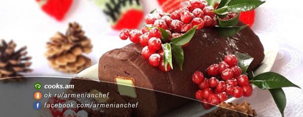 Շոկոլադե աղանդեր ''Ամանորյա գերան''