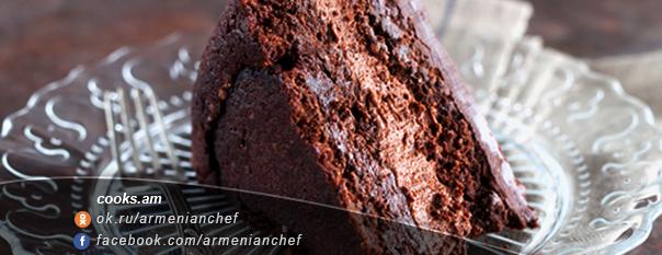 Շոկոլադե տորթ «Triple» 1