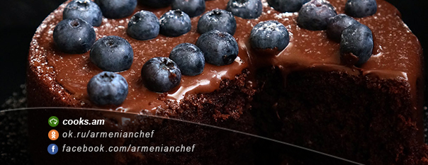 Ամանորյա շոկոլադե տորթ