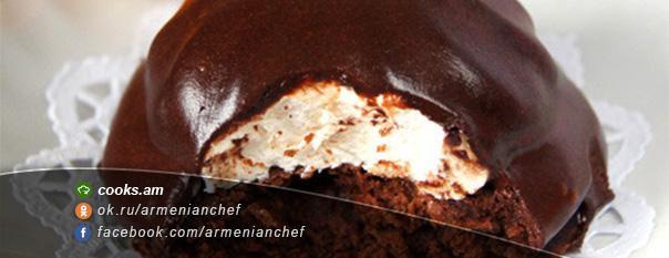 Կոնֆետ շոկոլադով և զեֆիրով
