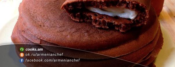 Շոկոլադե նրբաբլիթ Տիրամիսու