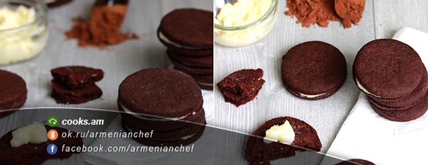 Շոկոլադե-սրճային թխվածքաբլիթ