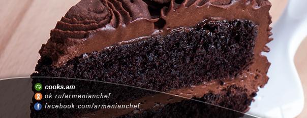 Շոկոլադե բիսկվիթով տորթ