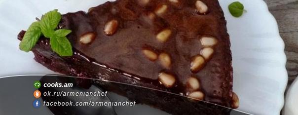 Բալով շոկոլադե տորթ