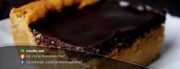 Շոկոլադե-սերուցքային թխվածքաբլիթ