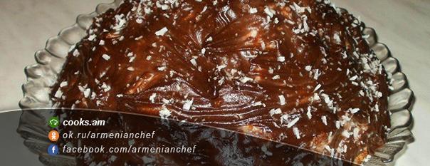 Տորթ ''Շոկոլադե հրաբուխ''