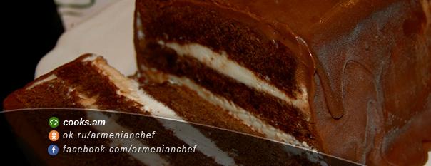 Շոկոլադե տորթ պաղպաղակ