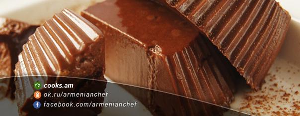 Շոկոլադե կաթնային ժելե