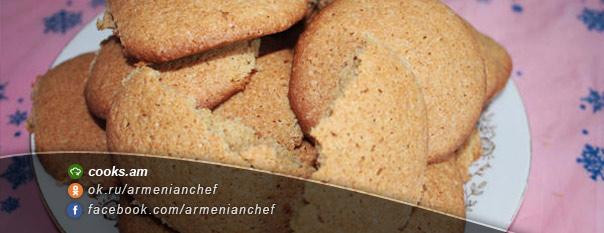 վարսակով թխվածքաբլիթներ