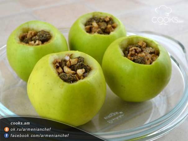 Լցոնած-խնձոր-8