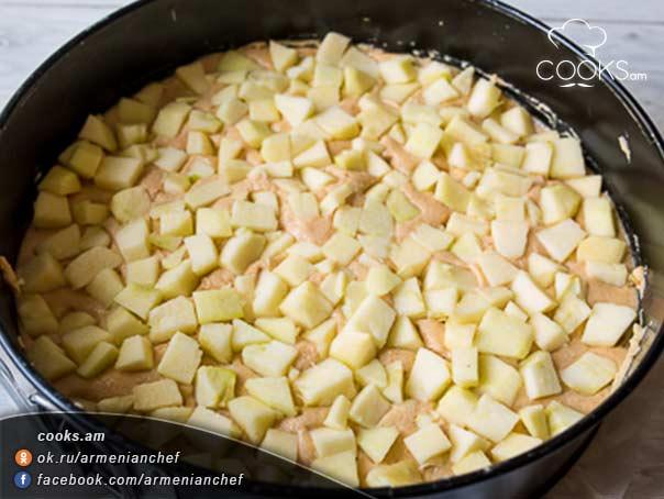 Պիրոգ-Կարամելային-խնձոր-5