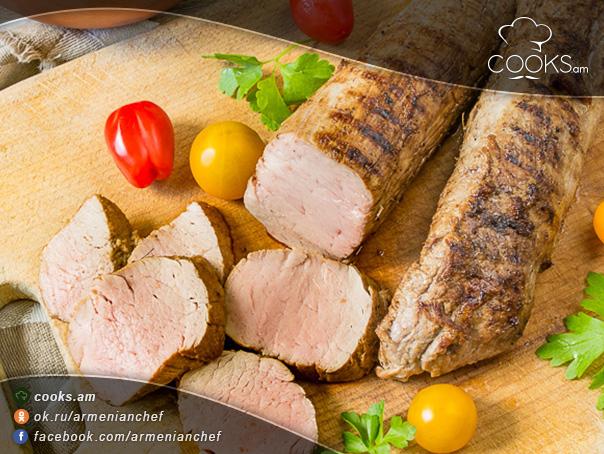 Խոզի-միսը-սոյայի-մարինադով-7