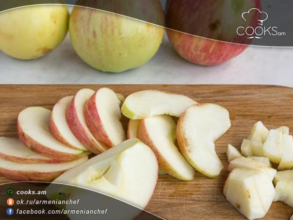 Խնձորով-գալետ-8