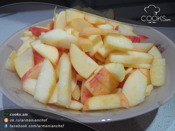 խնձորով-կարկանդակ-3