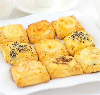 կաթնաշոռով-թխվածքաբլիթներ
