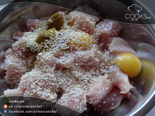 տապակած-հավի-միս